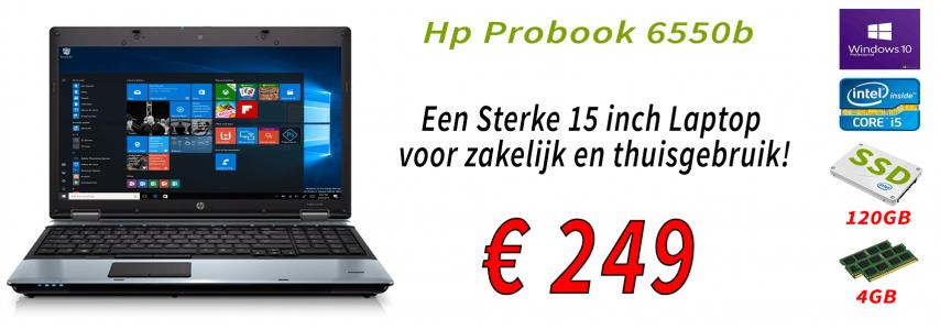 HP Probook 6550b Banner