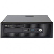 HP EliteDesk 705 G1 SFF AMD A4 Pro-7300B 8GB 120GB SSD + 500GB Windows 10 64Bit