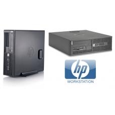 HP Workstation Z220 SFF intel Xeon E3-1230 V2 4GB 500GB W7 Pro AMD FirePro V3900  1GB