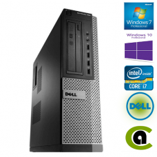 DELL Optiplex 990 SFF intel Core i7-2600 250GB 8GB DVDRW Windows 10 Professional