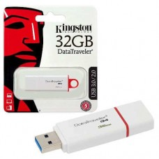 Kingston Technology USB flash drive DataTraveler G4 32GB - Rood, Wit